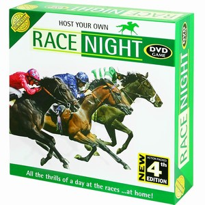 Race Night Horse Racing DVD Game 4th Edition