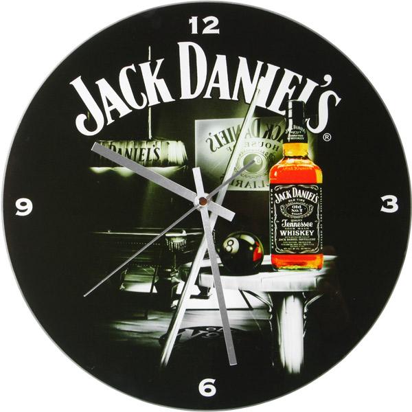Jack Daniel S Glass Wall Clock Drinkstuff