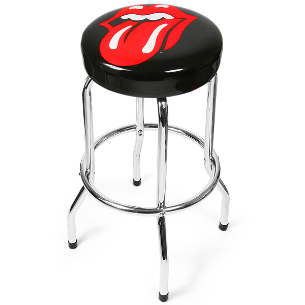 Pleasant Rolling Stones Lips Bar Stool Drinkstuff Gamerscity Chair Design For Home Gamerscityorg