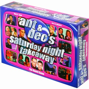 Ant & Dec's Saturday Night Takeaway Board Game