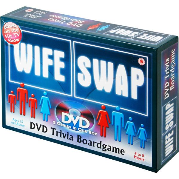 Wife Swap DVD Trivia Board Game