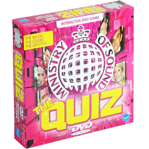 Fitness Dvd Ministry Of Sound: Ministry Of Sound Music DVD Game