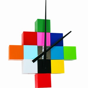 Do It Yourself Cubic Wall Clock