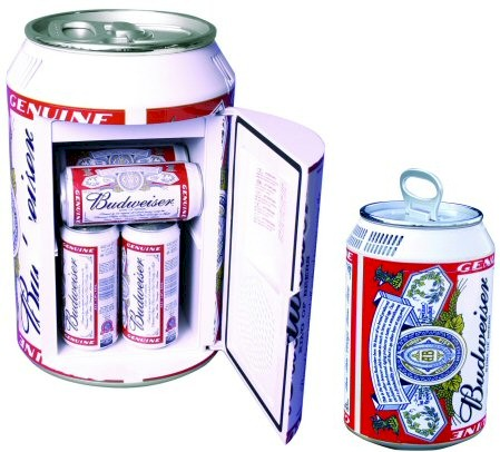 Budweiser Can Mini Fridge