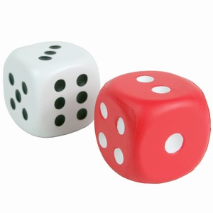 Squeezy Dice Stress Relievers