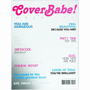 Cover Babe Magazine Cover Mirror