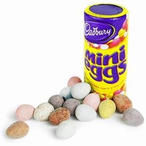 Cadbury Mini Eggs Tube
