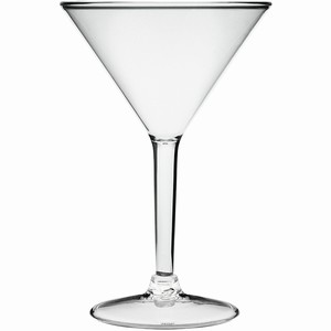 Acrylic Martini Glass 8.8oz / 250ml