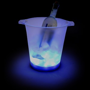 Ice Blue LED Ice Bucket