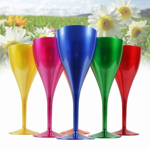 Rainbow Polycarbonate Wine Glasses 10.6oz / 300ml