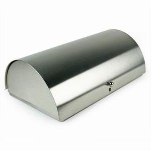 Zone Satin Steel Bread Box