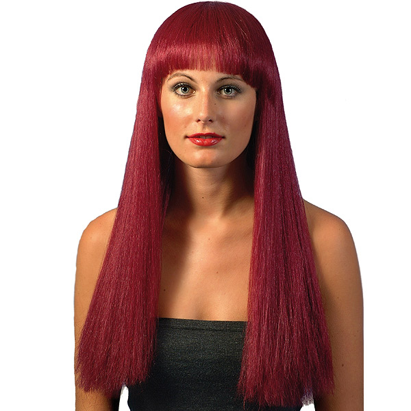 Burgundy Cher Wig Drinkstuff
