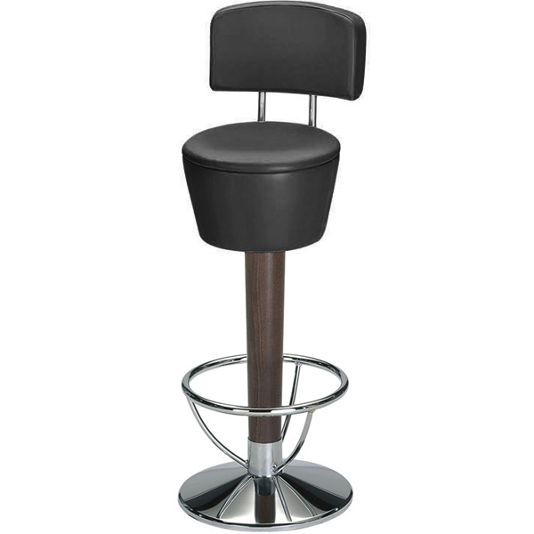 pienza commercial bar stool black drinkstuff