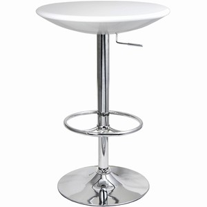 White Podium Table