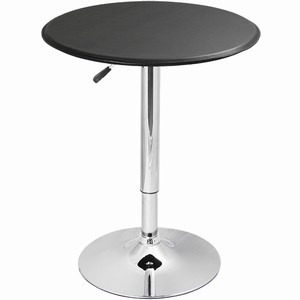 Black Faux Leather Table