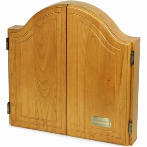 Sherwood Oak Dartboard Cabinet