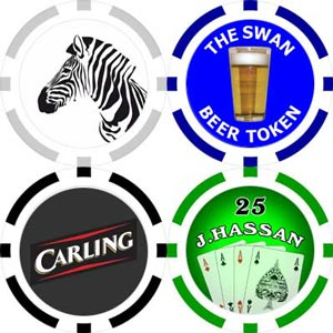 Customised Poker Chips