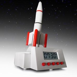 Rocket Launcher Alarm Clock