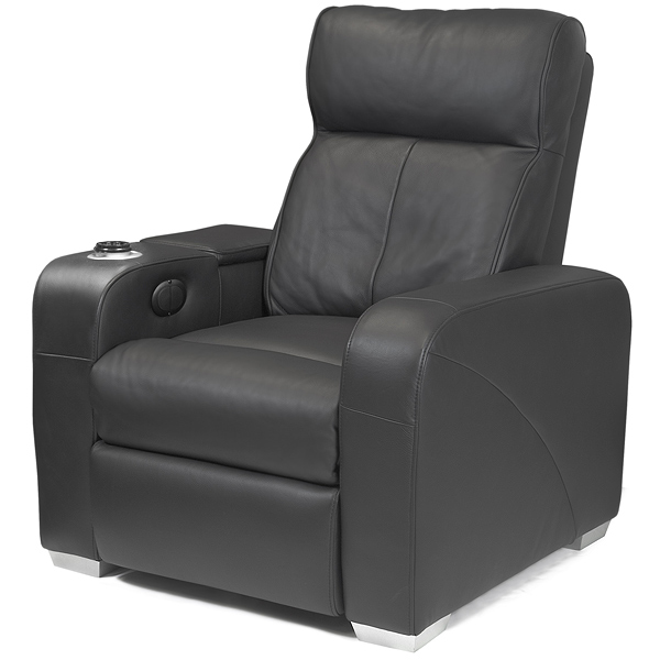 Premiere Home Cinema Chair Black Cinema Seating Massage