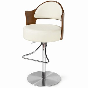 Visor Bar Stool Cream