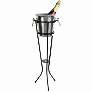 Aluminium Champagne Bucket with Stand