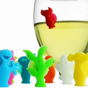VacuVin Party People Glass Markers