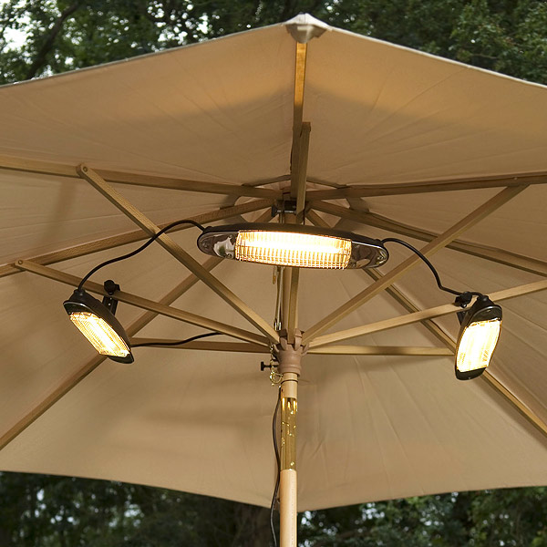 Electric Parasol Heater Drinkstuff