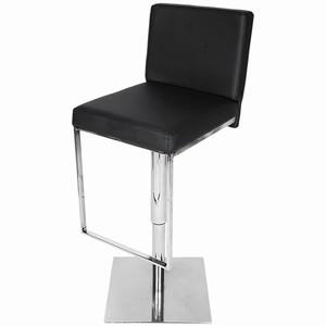 Quad Bar Stool #1#Black#2#