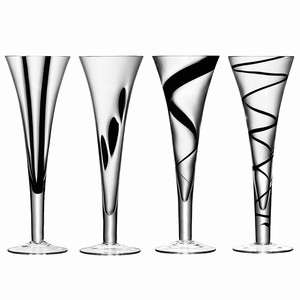 LSA Jazz Champagne Flutes 8.8oz / 250ml