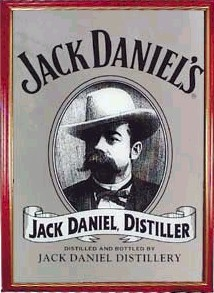 Jack Daniels Face Mirrors Drinkstuff