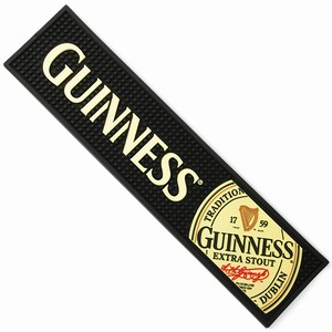 Guinness Label Rubber Bar Mat