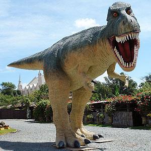 Life Sized Tyrannosaurus Rex Dinosaur Replica