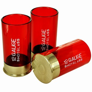 12 Gauge Shot Glasses 2.6oz / 75ml
