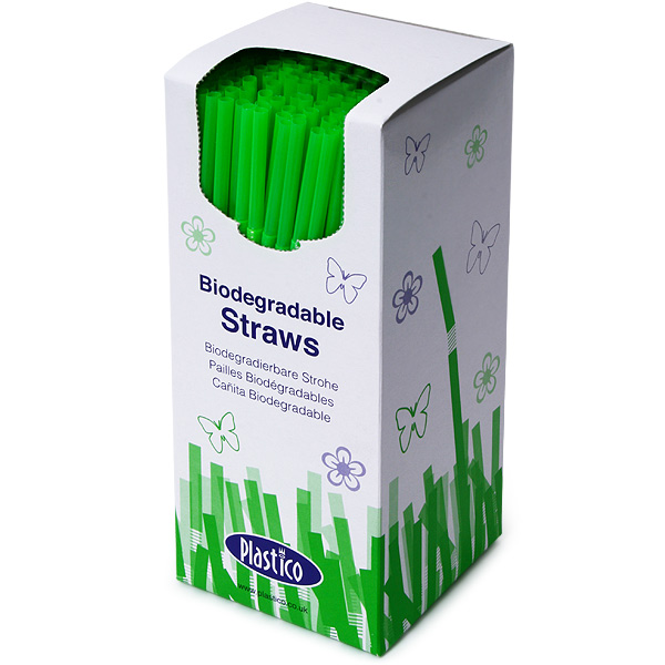 Biodegradable Bendy Straws 8inch Drinkstuff