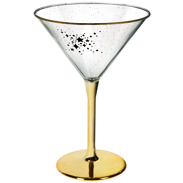 midnight plastic martini glass 230ml drinkstuff. Black Bedroom Furniture Sets. Home Design Ideas