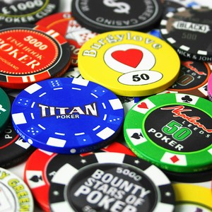 Customised Ceramic Poker Chips