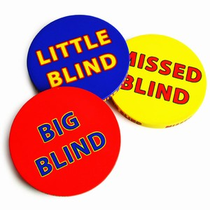 Ceramic Blind Button Pack