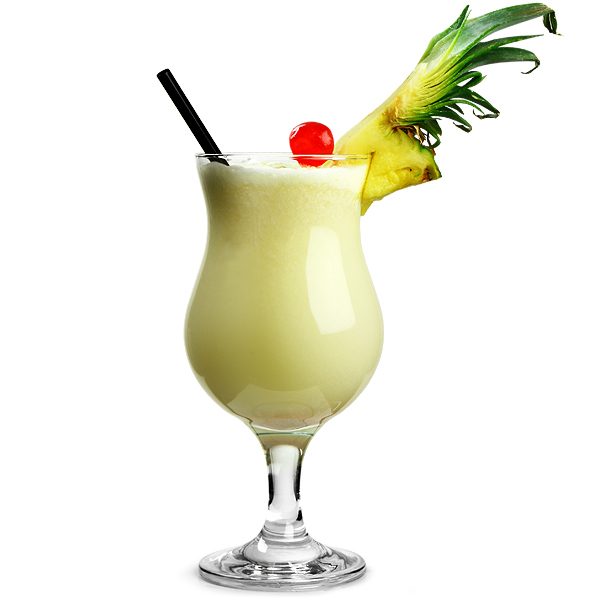 pina colada cocktail glasses at. Black Bedroom Furniture Sets. Home Design Ideas