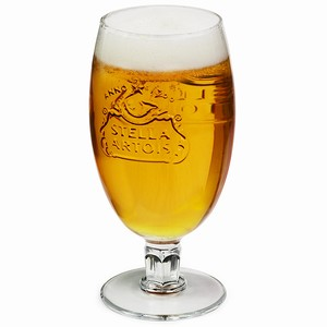 Stella Artois Chalice Pint Glasses CE 20oz / 568ml
