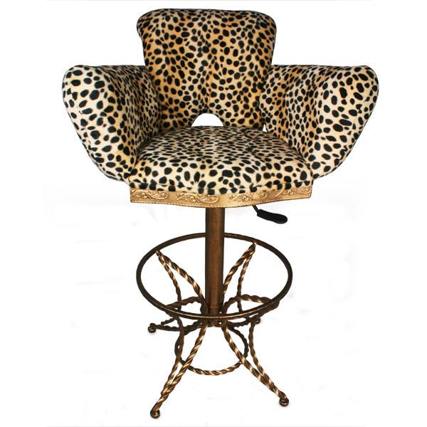 Leopard Print Bar Stool Drinkstuff