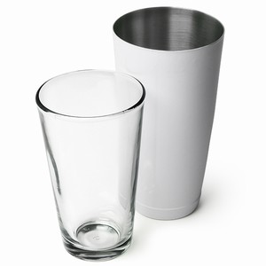 Professional Boston Cocktail Shaker White