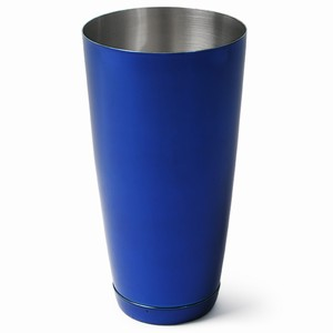 Professional Boston Cocktail Shaker Blue Tin Only