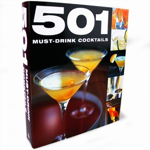 501 Must-Drink Cocktails Book