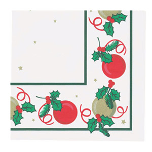 Christmas Party Napkins 33cm