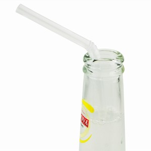 Alcopop Bendy Straws Clear