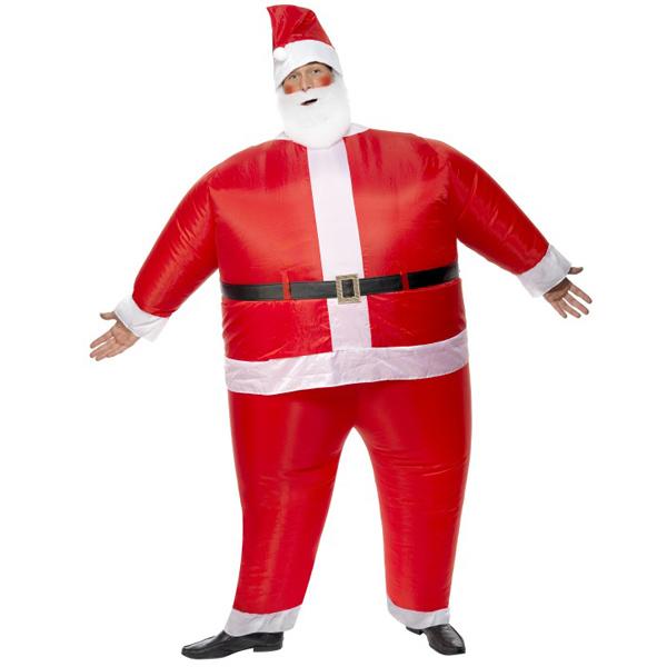 Inflatable santa costume drinkstuff