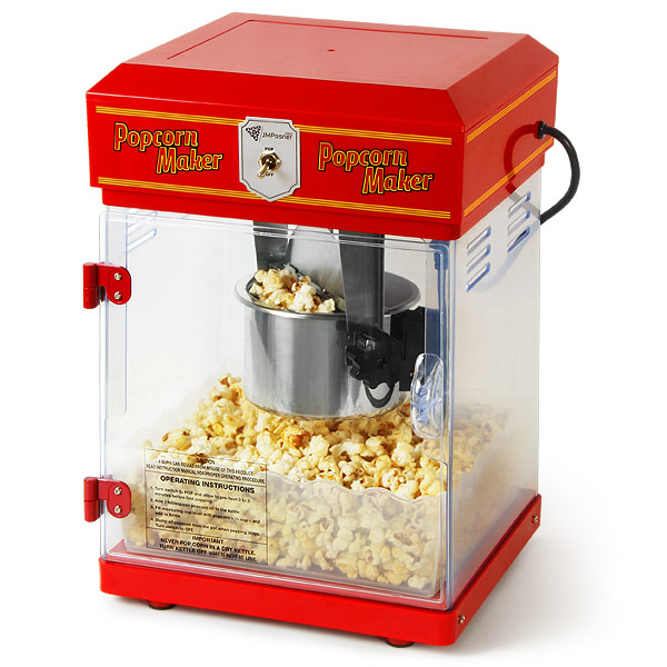 tabletop popcorn machine drinkstuff. Black Bedroom Furniture Sets. Home Design Ideas