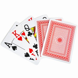 Economy Plastic Playing Cards