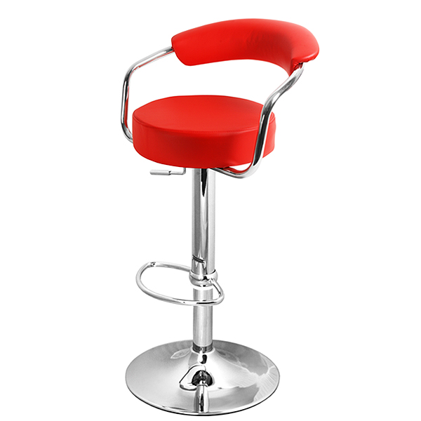 Zenith Bar Stool Red Drinkstuff