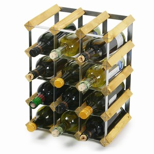 Traditional Wooden Wine Racks - Light Oak